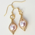 Pea In The Pod Earrings - One Pea In The Pod Gold Earrings.
