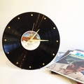 Upcycled LP Record Wall Clock