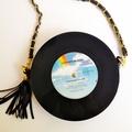 Original Vinyl Record Shoulder Bag/ Clutch/ Crossbody Bag