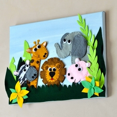 Life in the Jungle, Wall Hanging