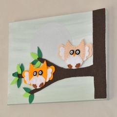 Hoot Hoot Flying Home, Wall Hanging