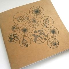 Signature Notebook Blank 120mm x 120mm