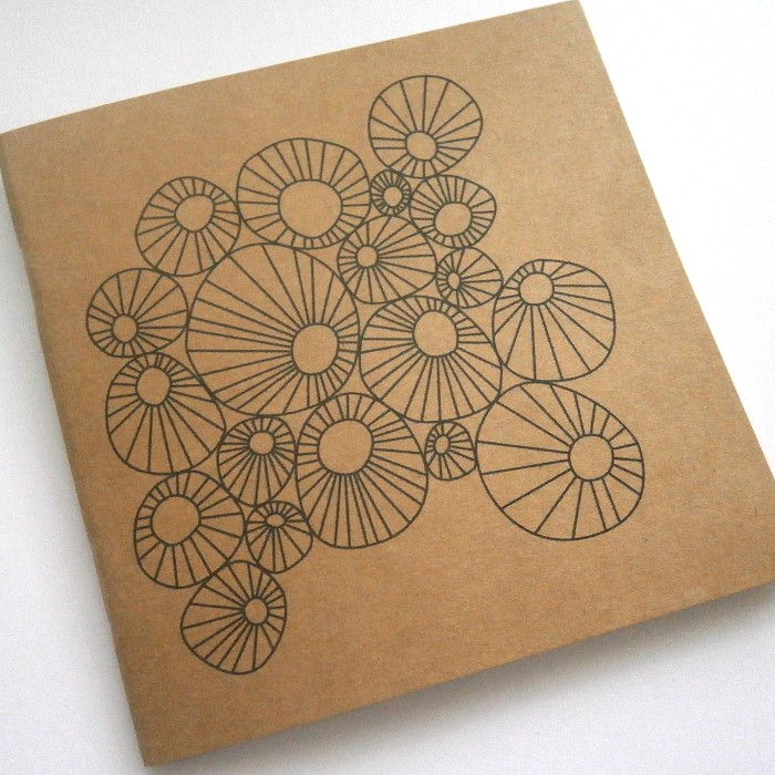 Clusters Notebook Blank 120mm x 120mm