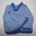 Baby Boys Cardigan and Matching Beanie to fit size 0 to 3 months.