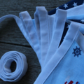 Little Boats Bunting - Wht