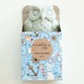 Lavender & Rose Owl Soap - Natural, Handmade, Vegan