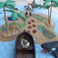 Pirate Island Play Mat, Activity Roll Up Travel Mat