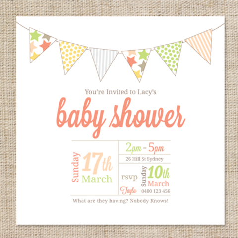 It's just a picture of Printable Baby Shower Invitation Template inside design