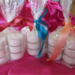 9 x Plain Tea Lights for bottom of Candle Burners