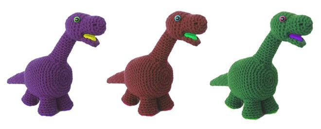 Dinosaur Pdf Crochet Pattern Chrissies Space Madeit