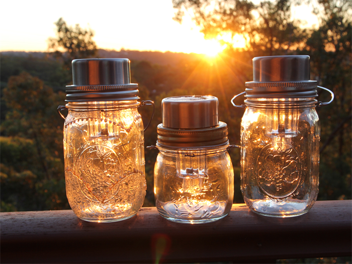 Solar Powered Mason Jar Lantern | Solar Powered Inventions That Will Change The World [2nd Edition] | Homesteading