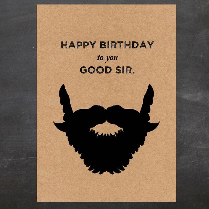 Поздравление бороде с днем рождения