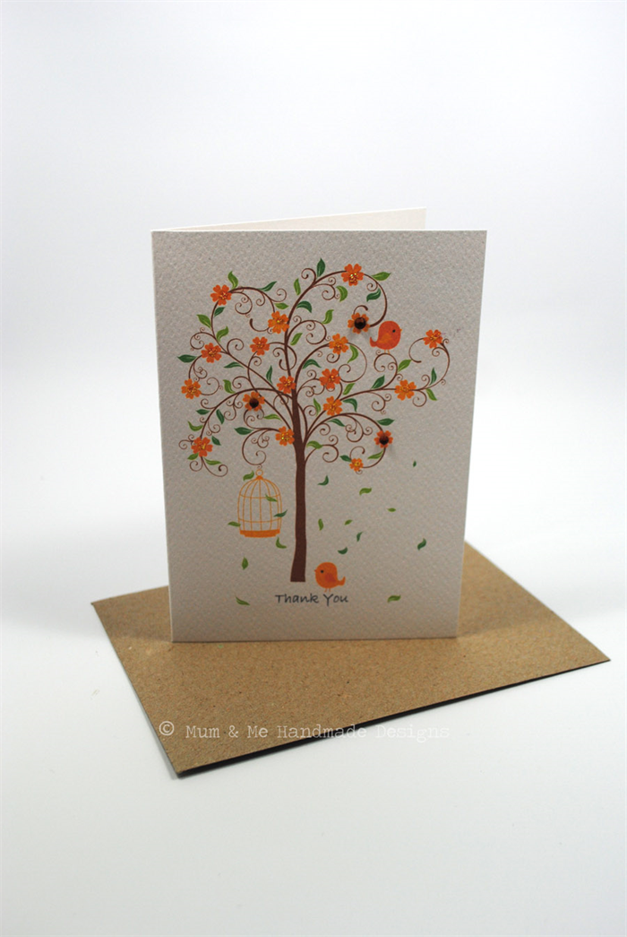 card pack  blank sympathy thank you  set of 3 cards