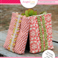 Tote Bag Pattern. Ruffle Trim Tote Bag PDF Sewing Pattern, Make and Sell