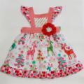 Boo! Pinny Size 3m, 6m, 12m,1,2,3,4,5 / Christmas dress
