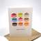 Happy Birthday Card - Female - Sweet Macaroons - HBF110