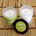 2 Mini Soy Candles infused with Pure Essential Oils.