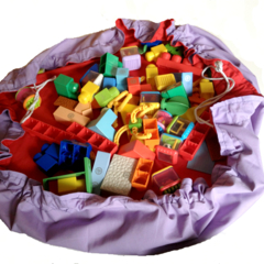 Lego Bag Playmat in One - Toyzbag®
