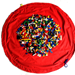 Lego Storage Bag & Playmat in One - Great for Blocks