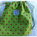 Green Toy Gift Bag