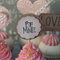 6 Be Mine Cupcake Toppers ~ Engagements Weddings