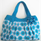 Shoulder bag in bright, beautiful fabrics and colours