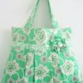 Shoulder bag in Amy Butler fabrics
