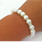 Popular Pearl Bracelet - perfect as bridal, bridesmaid, formal jewelry