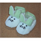 Hand Knitted Bunny Booties