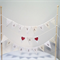 Cake Bunting/Cake Topper Triple String of Flags Always & Forever