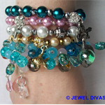 """HOLLYWOOD MERMAID"" Bracelet Stack"