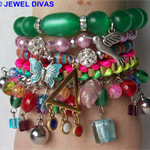 """RAINBOW CONNECTION"" Bracelet Stack"