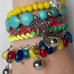 """CALIFORNIA DREAMIN"" Bracelet Stack"