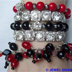 """RED CARPET TREATMENT"" Bracelet Stack"