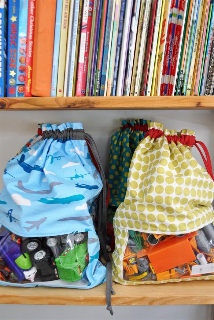 Sydney Australia Drawstring Toy Bag. Toy Sack. Organise Toys ...