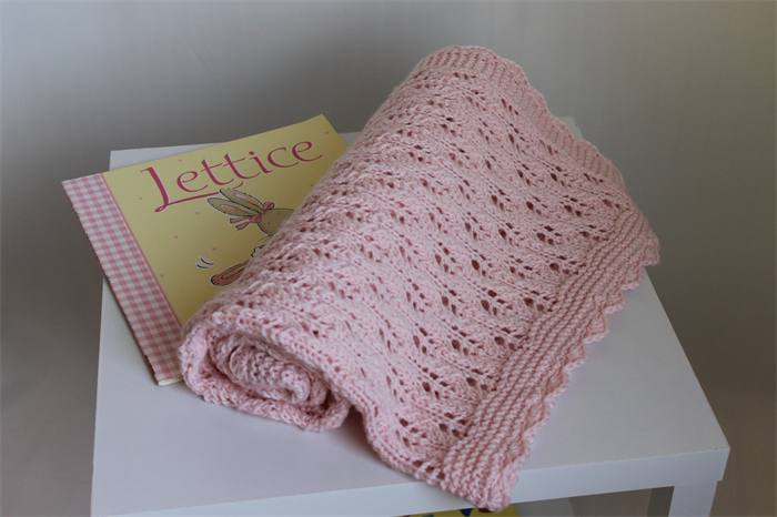 Knitting Pattern For A Round Heirloom Baby Shawl : Hand Knitted Baby Pink Heirloom Baby Blanket /Shawl Nursery Decor Ready to Sh...