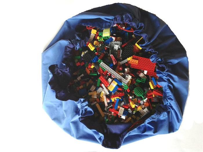 Lego Bag Playmat In One Lego Bag Mat By Toyzbag Madeit