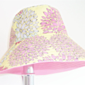 Girls hats in beautiful patterns and colours (floral or elephant pattern)