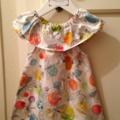 Watercolour springtime  dress Size 1