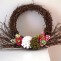 Christmas twig wreath READY TO SHIP