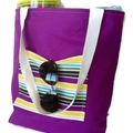 reversible bag perfect for beach and market
