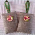 Linen & Lavender Bags
