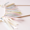 Cake Bunting/Cake Topper Ribbon. Baby Pink, Baby Blue/ Light Yellow. Baby Shower