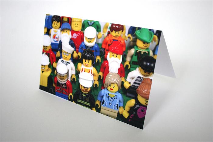 12 Lego & Playmobil Photo Christmas Cards | RhyleyDesignJunior ...