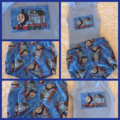 Thomas the tank engine shorts romper and singlet top outfit set, train gift