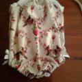 Incy-Wincy Size 0000 Newborn Vintage Inspired Sun Suit