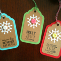 Xmas Gift Tag set of 9 (Christmas)