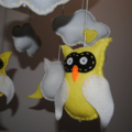 Owl and cloud mobile