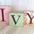 3 Letter Name Word Block Set