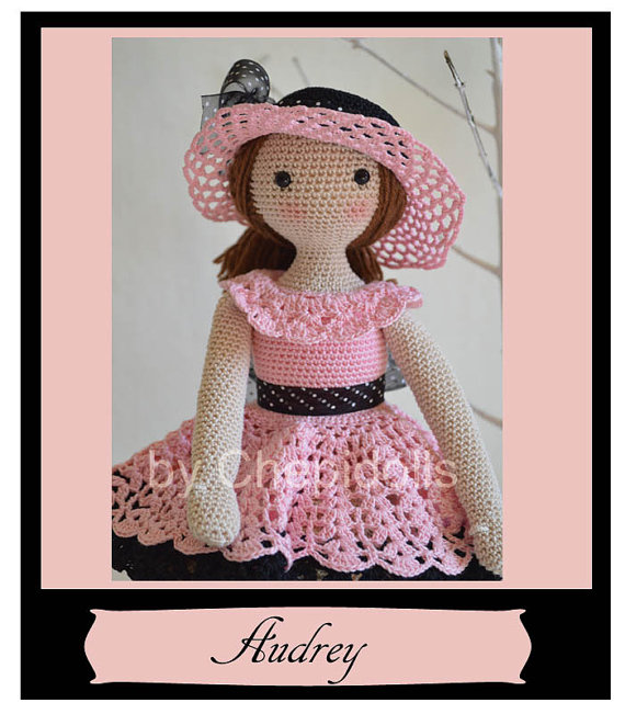 Crochet Amigurumi Doll Body : COLLECTIBLE CROCHET DOLL AMIGURUMI DOLL ELISE BOUTIQUE ...